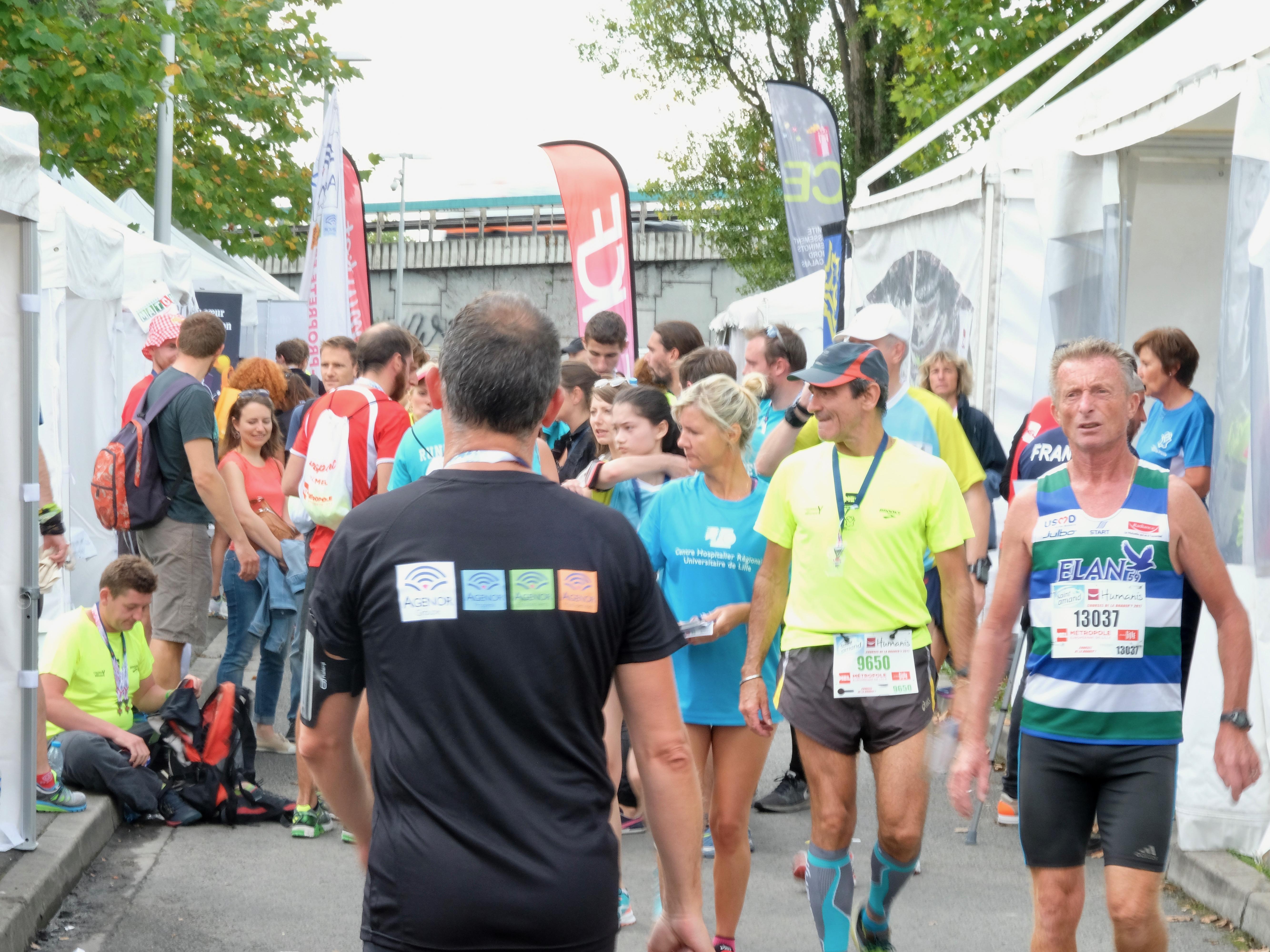 Agenor Partenaire braderie de Lille semi marathon 2017