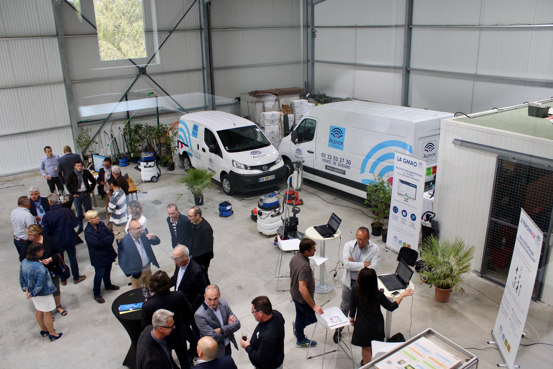 Inauguration Agenor Soissons nouveaux locaux