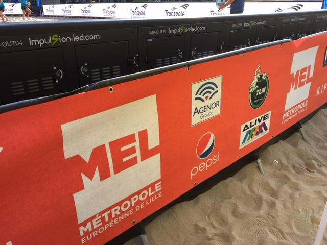 Agenor sponsor de Lille Beach Volley